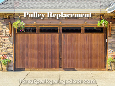 Forest-Park-Pulley-Replacement-Garage-Doors