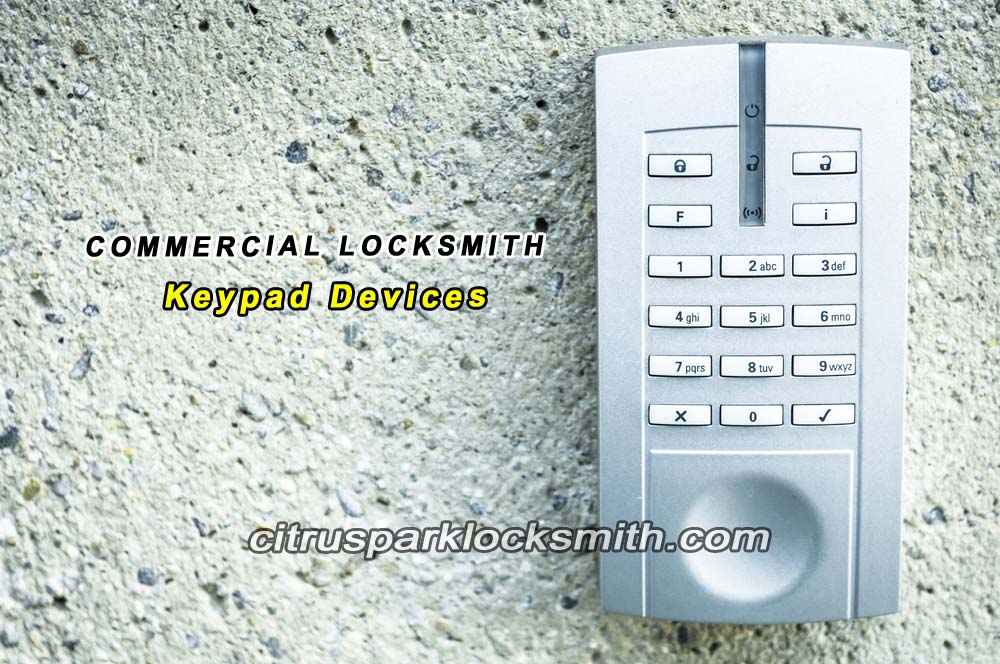 Citrus-Park-locksmith-keypad-devices