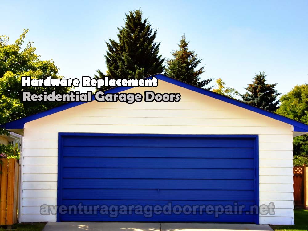 Aventura-garage-door-hardware-replacement