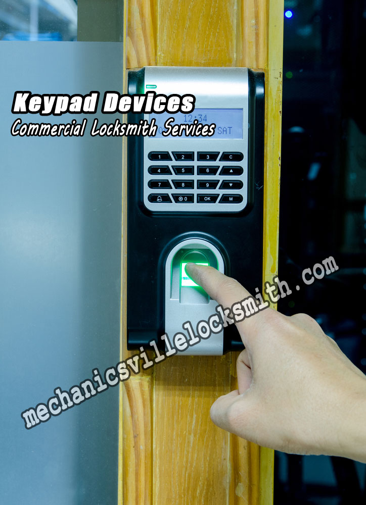 Mechanicsville-locksmith-keypad-devices