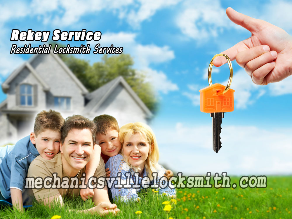Mechanicsville-locksmith-rekey-service