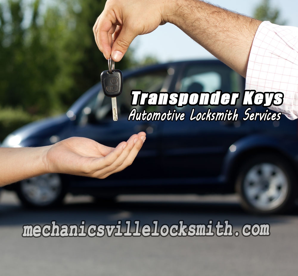 Mechanicsville-locksmith-transponder-keys