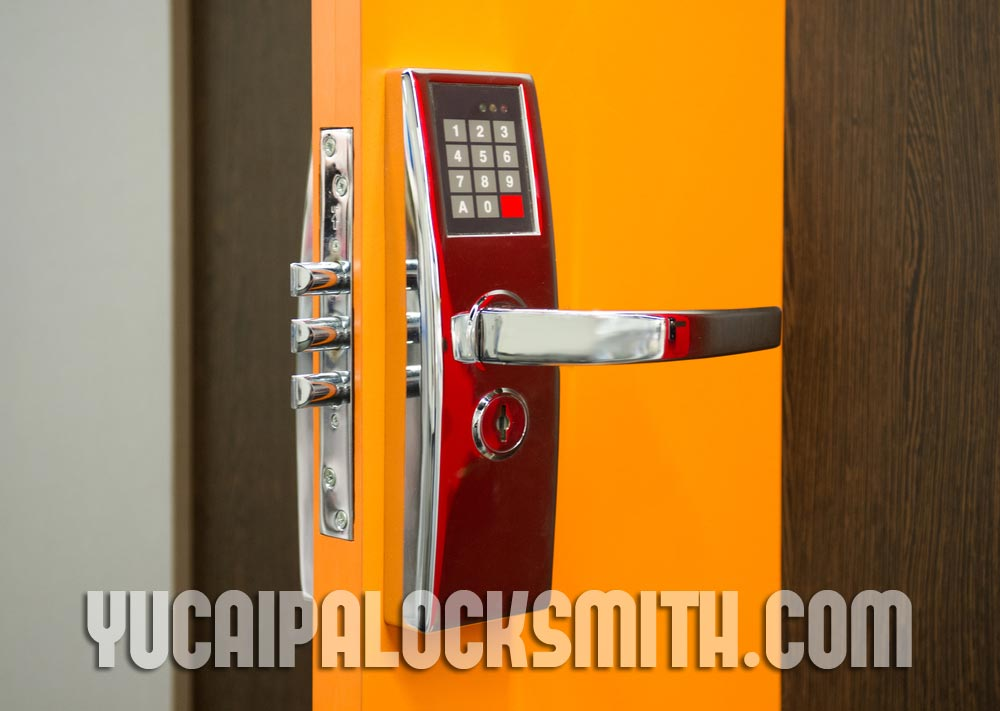 keypad-Yucaipa-locksmith