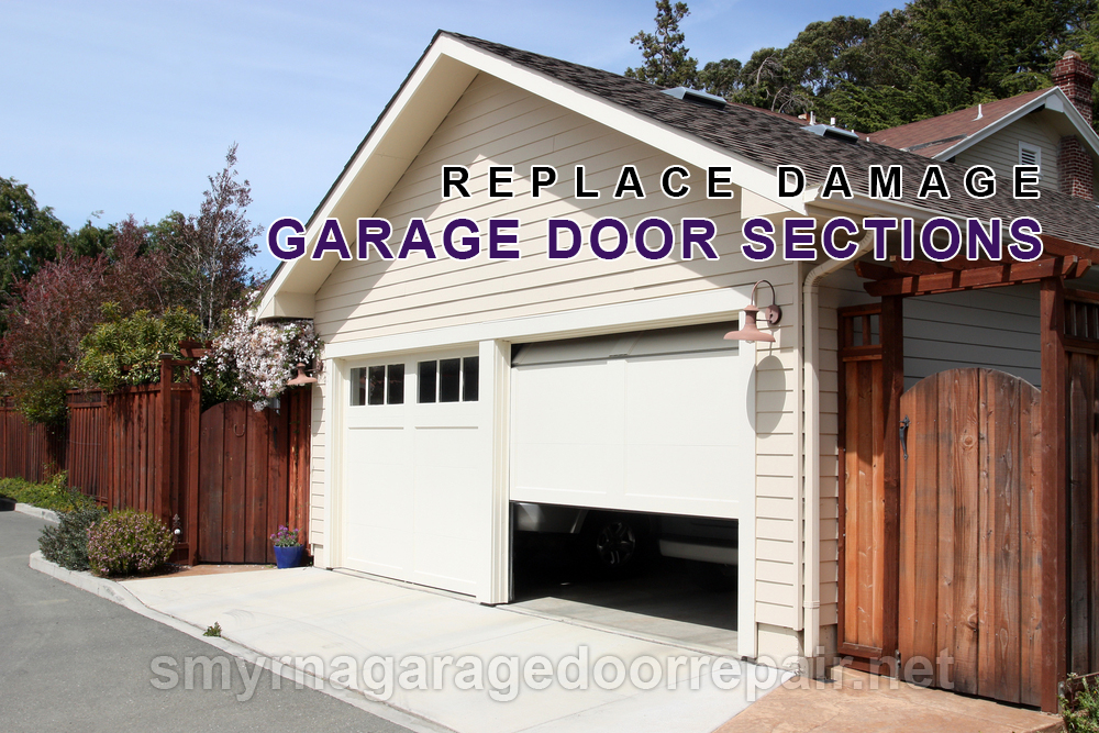 Smyrna-Replace-Damaged-Garage-Door-Sections