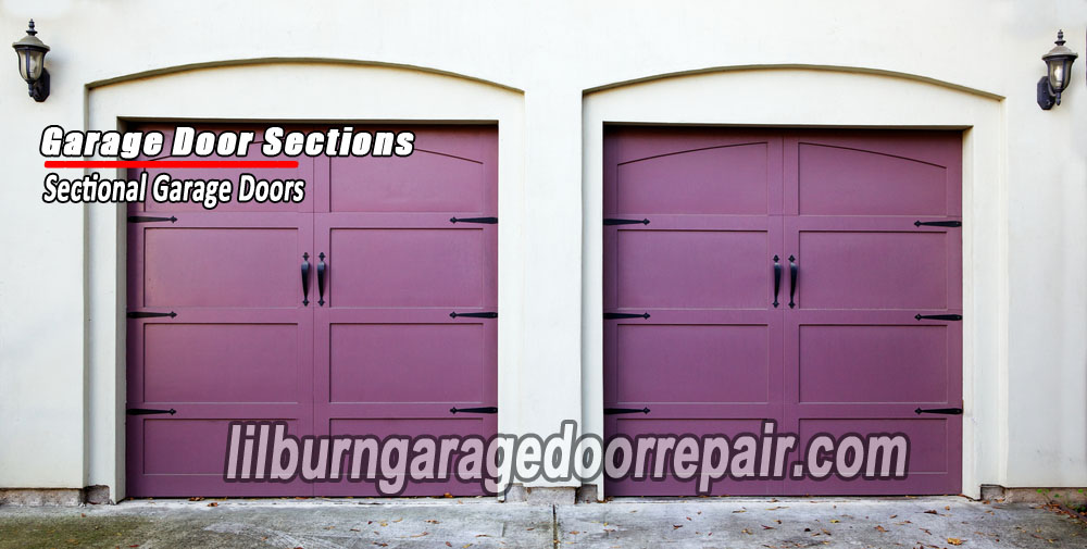 Lilburn-garage-door-garage-door-sections
